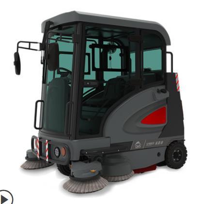 S1900E大型扫地车道路清扫车物业工业驾驶式电动扫地机